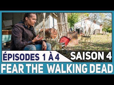 Download FEAR THE WALKING DEAD  Saison 4 : épisodes 1 à 4 / Review & Théories
