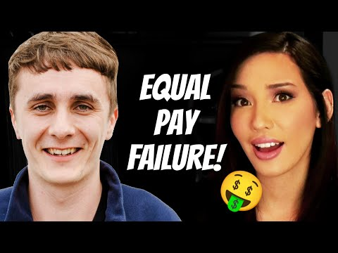Equal Pay Experiment FAILS! Pay Gap DEBUNKED