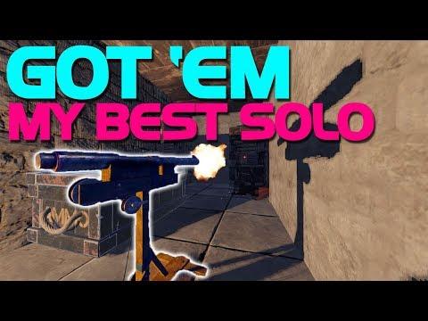 GOT 'EM!! (My BEST SOLO pt.1) - Rust