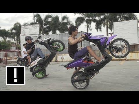 The Moped Stunt Crews of Manila | NBC Left Field