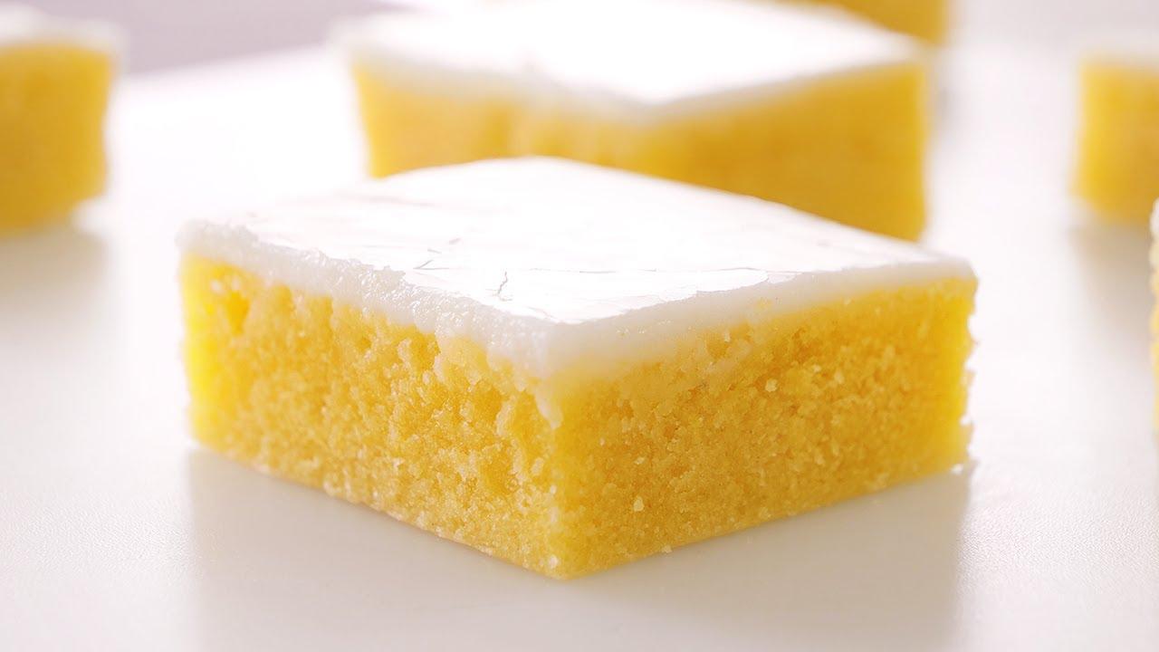 Brownies de Limón o Lemonies | Postre muy Fácil, Rápido y Delicioso