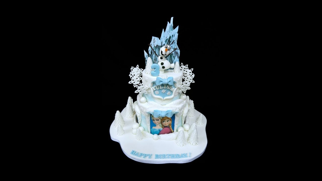 Frozen Birthday Cake YouTube