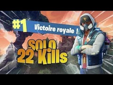 22 Kills Solo Season 5 Gameplay | Fortnite Battle Royale (Xbox) - Tendai
