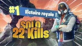 22 Kills Solo Season 5 Gameplay | Fortnite Battle Royale (Xbox) - Tendai