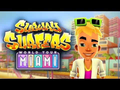 Subway Surfers World Tour 2017 - Miami - Official Trailer