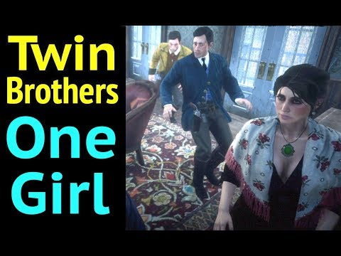 Sneak Inside Hotel Room of Twin Brothers in Red Dead Redemption 2 (RDR2): Oh Brother - II thumbnail