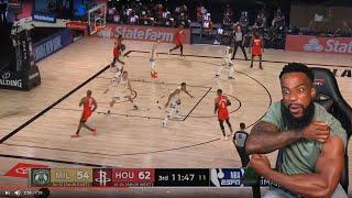 WEIGHT ROOM! Milwaukee Bucks vs Houston Rockets - Full Game Highlights   August 2, 2020