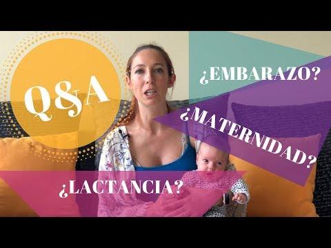 Q&A   EMBARAZO, LACTANCIA, MATERNIDAD