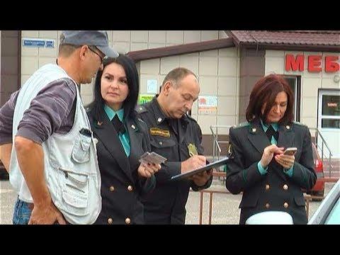 Совместный рейд  сотрудников отдела ГИБДД с представителями службы судебных приставов