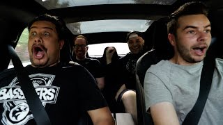 TESLA P100D LUDICROUS MODE OPTIC HOUSE REACTIONS! (0-60 in 2.5 secs)