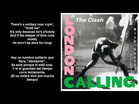 The Clash -The Card Cheat (Lyrics) (Subtitulos en español)