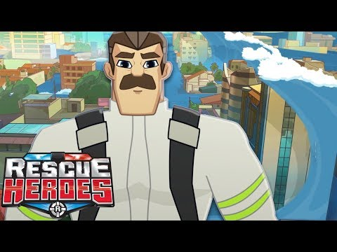 The Great Big Wave - Rescue Heroes™ | Cartoons For Kids | Fisher-Price | Rescue Heroes | Episode 4