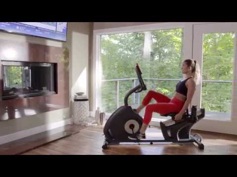 Schwinn 270 Recumbent Bike Product Video Youtube