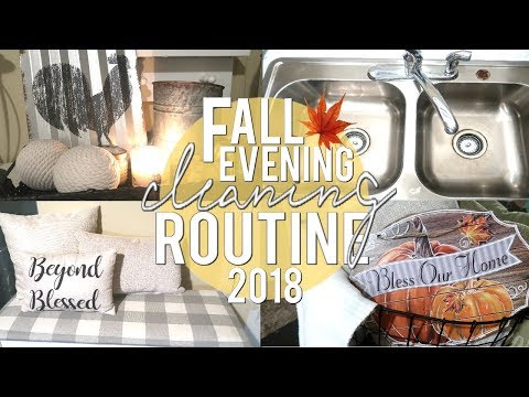 🍁-fall-evening-cleaning-routine- -fall-cleaning-routine-2018- -collab-with-carla-mackenzie