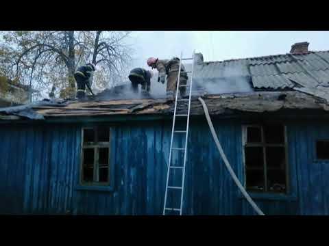Полтава: під час гасіння пожежі вогнеборці виявили тіло чоловіка
