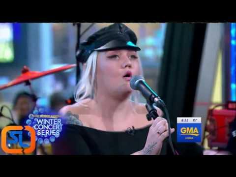 Elle King Ex's & Oh's   LIVE Good Morning America 2016 Jan. 06