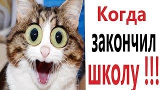 Лютые приколы. КОГДА ЗАКОНЧИЛ ШКОЛУ!!! Самое смешное видео! Засмеялся проиграл! – Domi Show!