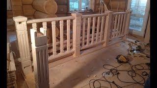 Ограждение балконов фрезером. 1 часть