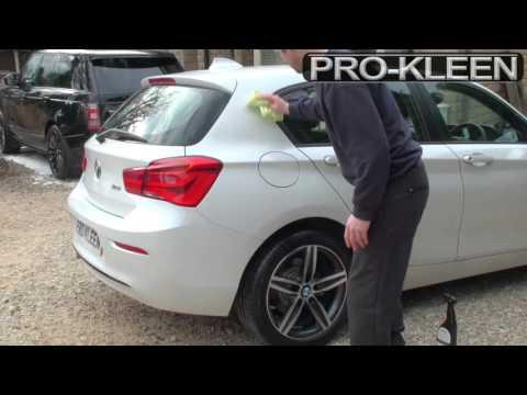 PROKLEEN WATERLESS WAX DEMONSTRATION (On 1 Series BMW)