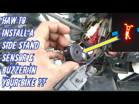 Download Haw to install side stand sensor endicetor & buzzer