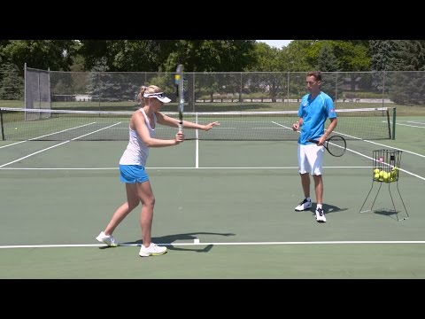 Crushing Forehand Power - Tennis Lesson