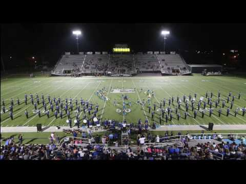 Enid High School Big Blue Band Halftime Show 09/23/2016