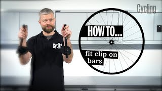 How to fit clip on bars   Cycling Weekly