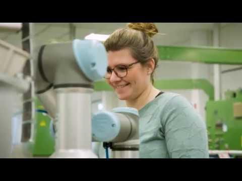 JUNG setzt auf Mensch-Roboter-Kollaboration in der Montage