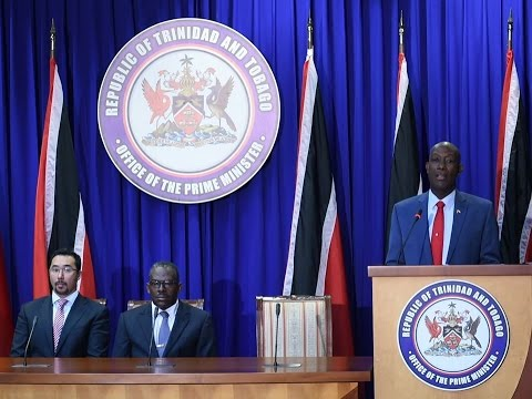 Prime Minister Rowley at Post Cabinet Media Briefing (Thursday 29th September 2016)