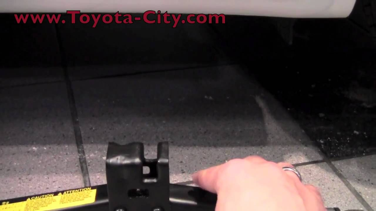 2011 toyota camry jack placement how to by toyota city minneapolis mn youtube