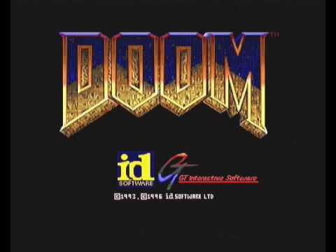 Doom Intro GT Interactive Sega Saturn Pal Version
