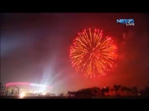 ICYMI Official Attempt for Largest Firework Display in Philippine Arena
