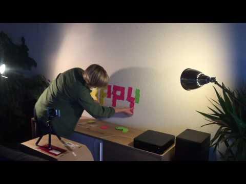 Post-it animation creation
