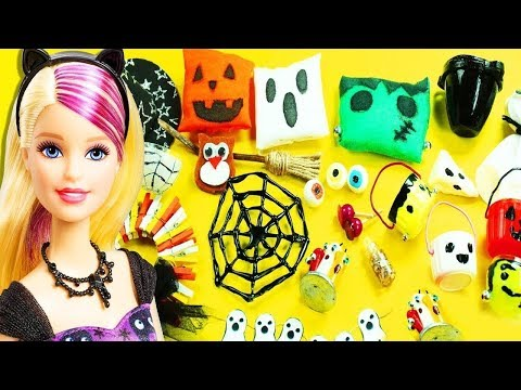DIY Halloween Doll Hacks and Accessories - simplekidscrafts