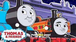 6 Little Trains - Thomas & Friends™ Nursery Rhymes & Kids Songs   6 Little Ducks