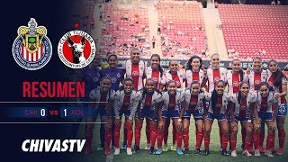 Resumen | Chivas Femenil 0-1 Xolos | Highlights | J6 LigaMX Femenil AP19
