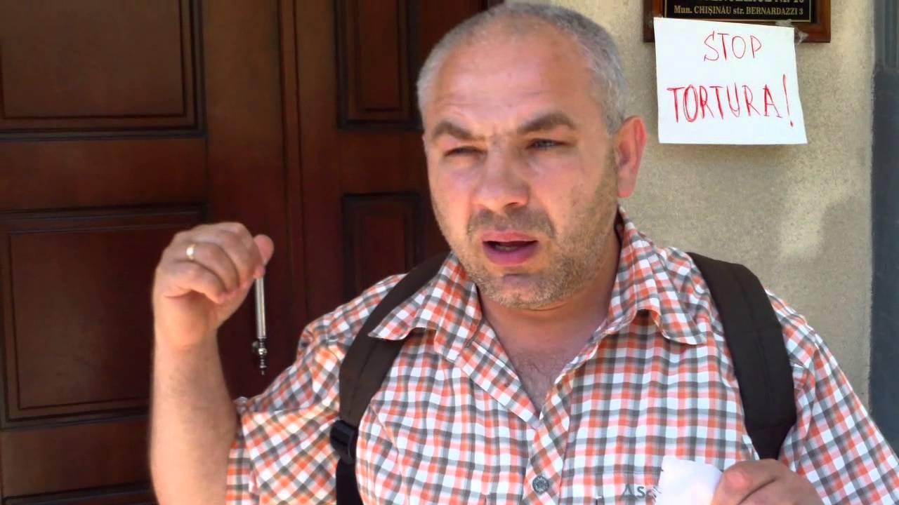 Protest contra torturii la #penitenciarul13, Chișinău