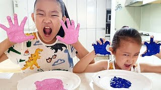 Finger Family color song with Painting on the dad's clothes | Nursery rhymes & Kids song By LoveStar
