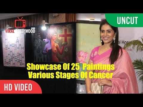UNCUT - Showcase Of 25 Paintings | The Various Stages Of Cancer | Sonali Kulkarni | JJ School of Art