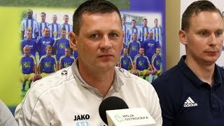 Trener Marcin Truszkowski o meczu z Mazovią