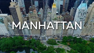 New York - Manhattan - 4K Drone