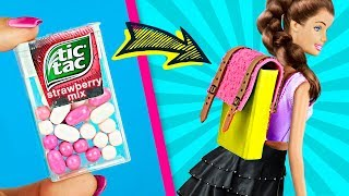 11 DIY Miniature Barbie School Supplies Really Work / Clever Barbie Hacks And Crafts