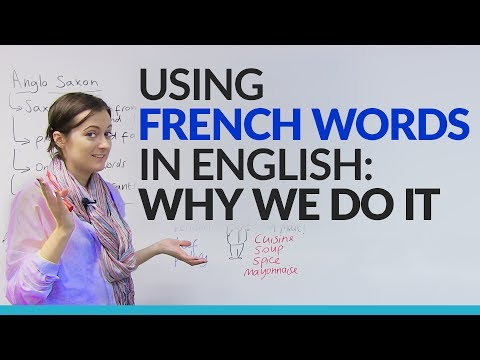 Formal & Informal Vocabulary: Using French words in English