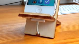 Fingercan Iphone Stand - Making Of & Quick Look!