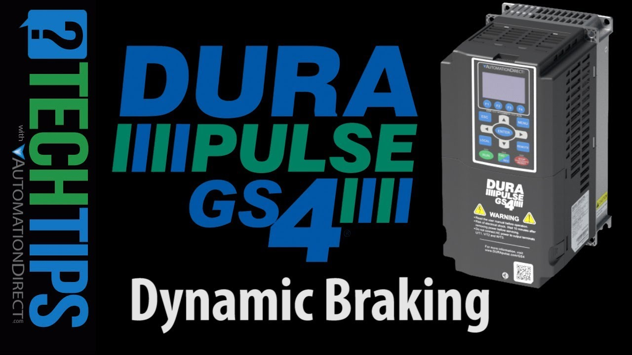 dynamic braking on the gs4 variable frequency drive vfd  [ 1280 x 720 Pixel ]