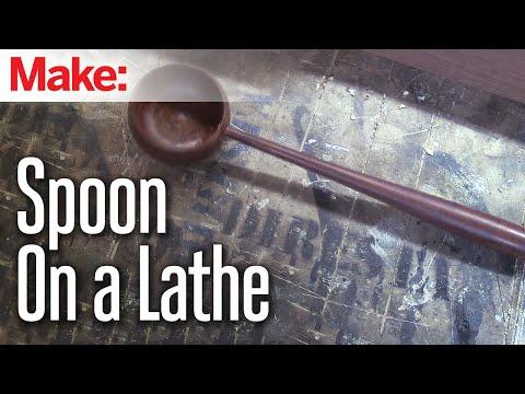 DiResta: Spoon on a Lathe