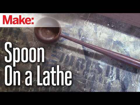 DiResta: Spoon on a Lathe