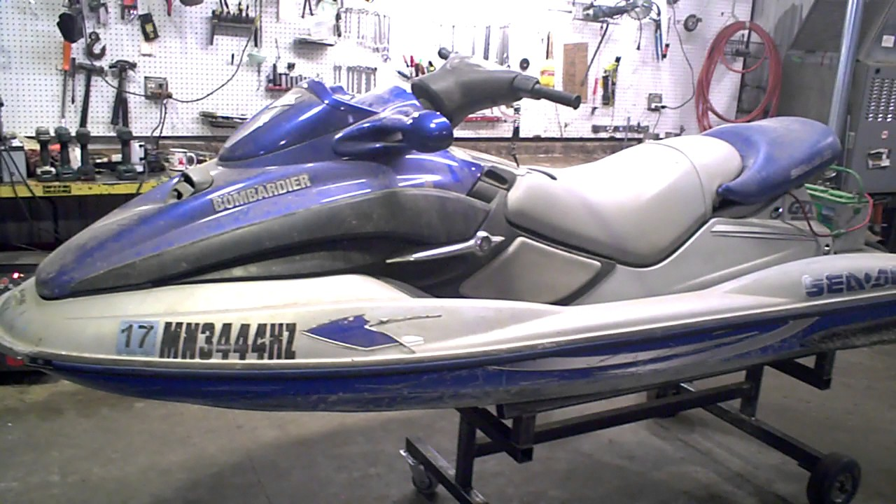 2001 SEADOO GTX DI JET SKI TEAR DOWN INTO PARTS LOT 2513A