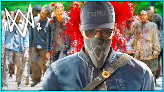 WATCH DOGS 2 ZOMBIES MODE?!