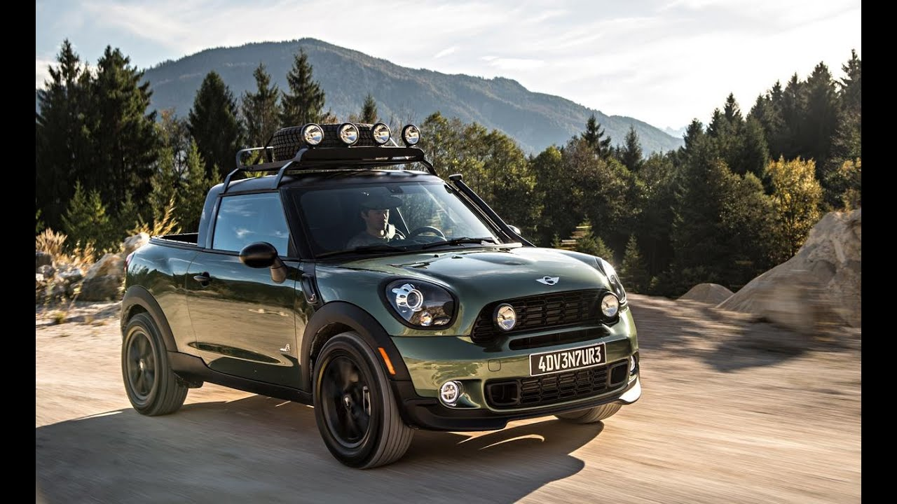 2016 Mini Paceman Review Official
